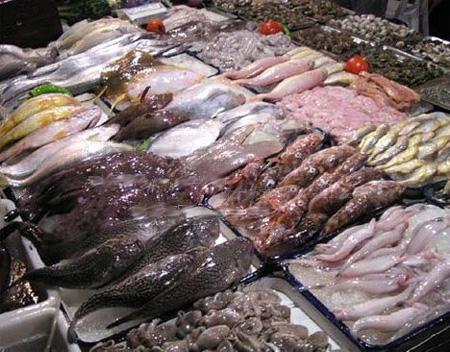 天津海鲜市场