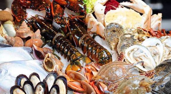青岛海鲜市场