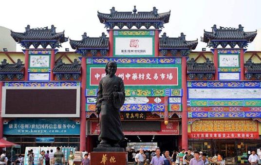 中国最大中药材市场